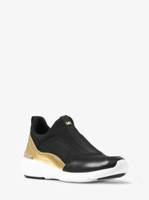 Ace Metallic-Trim Sneaker by Michael Kors