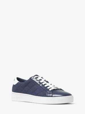 Irving Canvas and Leather Sneaker by Michael Kors