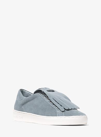 Keaton Suede Kiltie Sneaker by Michael Kors