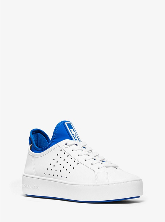 Ace Leather and Scuba Sneaker | Michael Kors