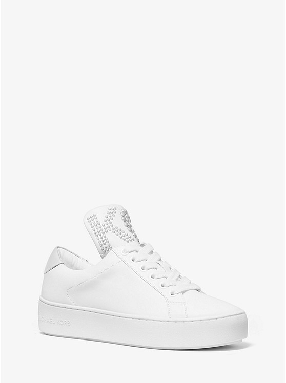 Mindy Studded Leather Sneaker | Michael Kors