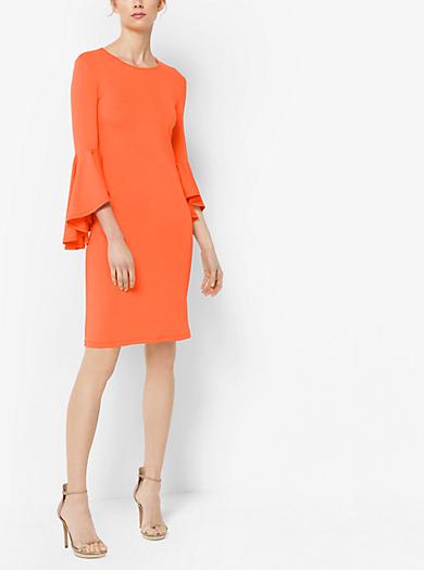 Stretch Matte-Jersey Dress by Michael Kors