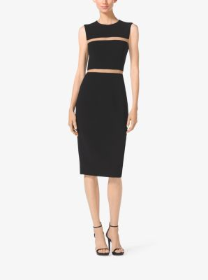 Wool-Crepe Sheath Dress by Michael Kors