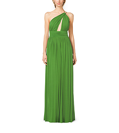 Matte-Jersey Asymmetric Gown by Michael Kors