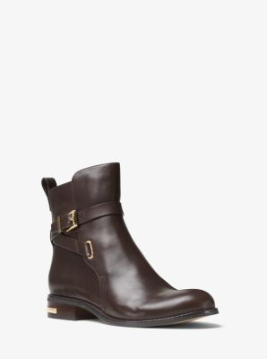 Arley Leather Ankle Boot by Michael Kors