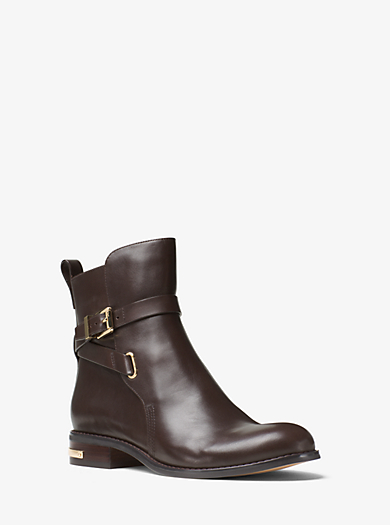 Stiefelette Arley aus Leder by Michael Kors