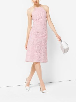 Ribbon-Embroidered Organza Dress by Michael Kors