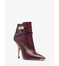 Averie Leather Ankle Boot