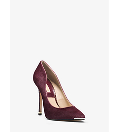 Avra Haircalf and Snakeskin Pump