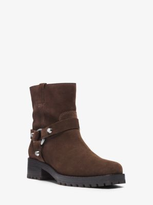Macey Suede Ankle Boot by Michael Kors