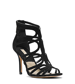Norma Suede Cutout Sandal