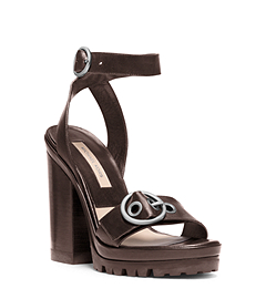 Philipa Runway Vachetta Leather Sandal