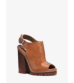 Patras Leather Platform Sandal