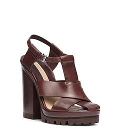 Pax Runway Vachetta Leather Sandal
