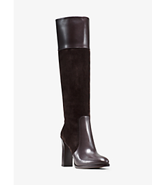 Daryl Leather and Suede Boot by Michael Kors