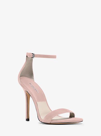 Jacqueline Suede Sandal by Michael Kors