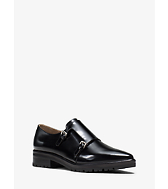 Judd Monk-Strap Leather Brogue by Michael Kors
