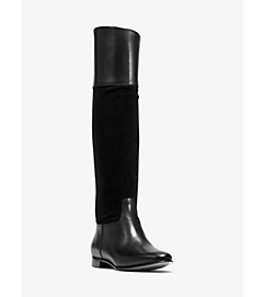 Rooney Leather and Suede Boot by Michael Kors