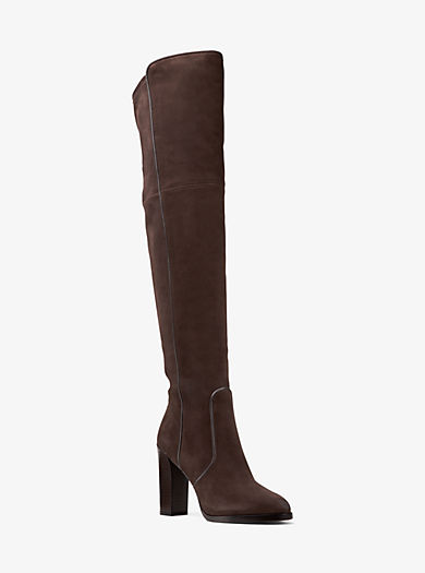 Cutler Suede Over-the-Knee Boot by Michael Kors