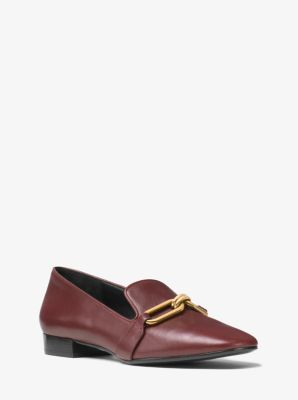 Lennox Leather Loafer by Michael Kors