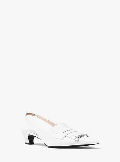 Lucie Spazzolato Pump by Michael Kors