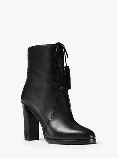 Odile Leather Ankle Boot by Michael Kors