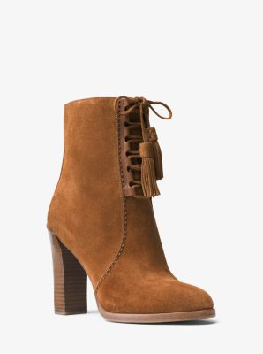 Odile Suede Ankle Boot by Michael Kors