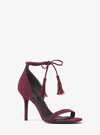 Rosemary Suede Sandal by Michael Kors