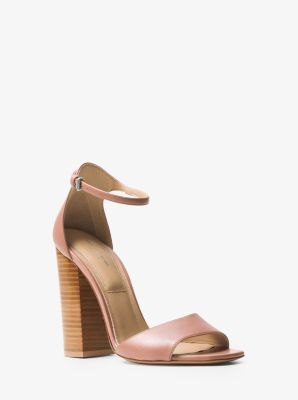 Rosa Leather Sandal by Michael Kors