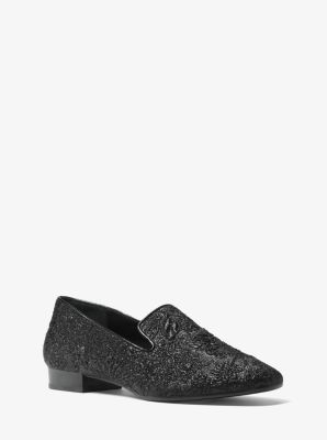 Roxanne Floral Brocade Loafer by Michael Kors