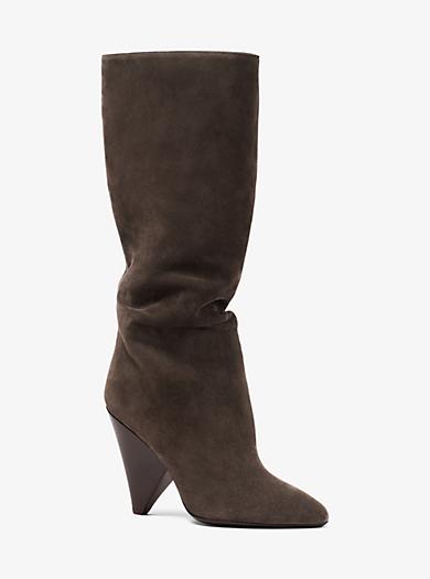 Belinda Suede Boot by Michael Kors