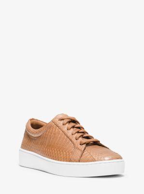 Valin Snakeskin Sneaker by Michael Kors