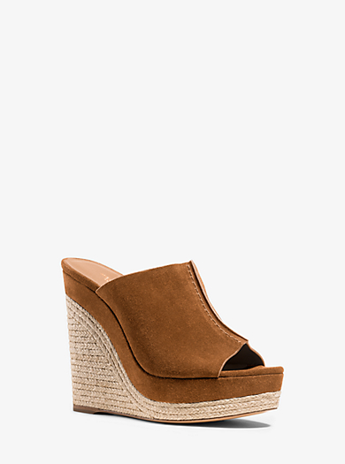 Charlize Suede Wedge  by Michael Kors