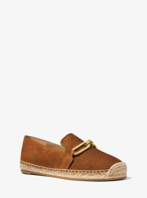Lennox Suede and Jute Espadrille by Michael Kors