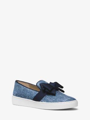 Val Denim Slip-On Sneaker by Michael Kors