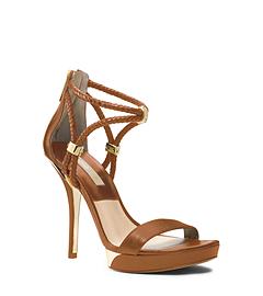 Fariha Leather Platform Sandal