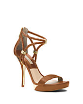 Fariha Leather Platform Sandal