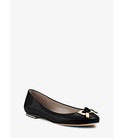 Pearl Calf Leather Flat