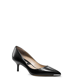 Trisha Leather Pump