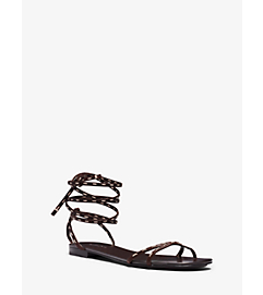 Bale Runway Leather Sandal by Michael Kors