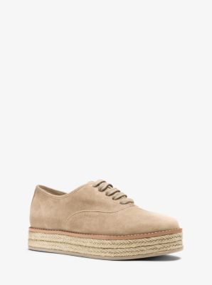 Madison Suede Sneaker  by Michael Kors