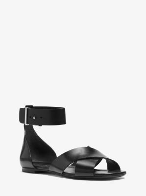 Robbie Leather Sandal  by Michael Kors