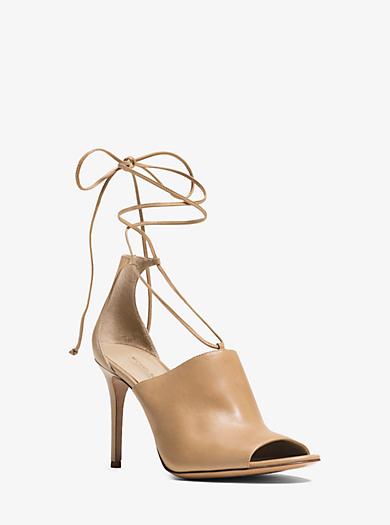 Venice Leather Sandal  by Michael Kors