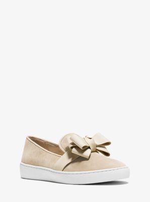 Val Suede Slip-On Sneaker by Michael Kors