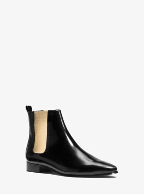 Luca Leather Ankle Boot by Michael Kors