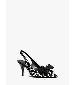 Mae Runway Calf Hair Sling-Back Pump by Michael Kors