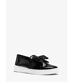 Val Runway Patent Leather Bow Sneaker by Michael Kors