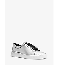 Valin Metallic Leather Sneaker by Michael Kors