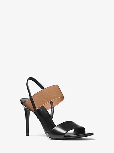 Chantal Runway Calf Leather Sandal  by Michael Kors