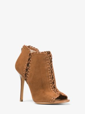 Henley Suede and Leather Pump by Michael Kors